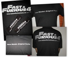 Fast & Furious 4 Merchandise