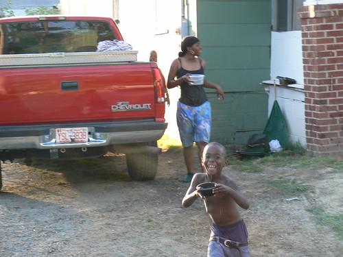 Hunter Street Water Fight - Khaliya, Tykee Coming After Me