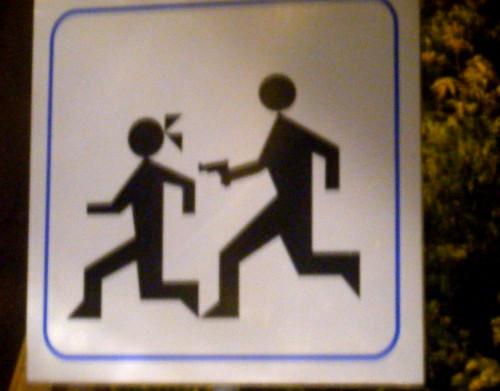 Warning of Armed Men?