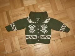 Cowichan Baby Jacket