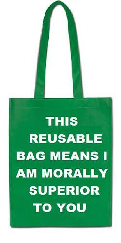 Shopping Bag Warning
