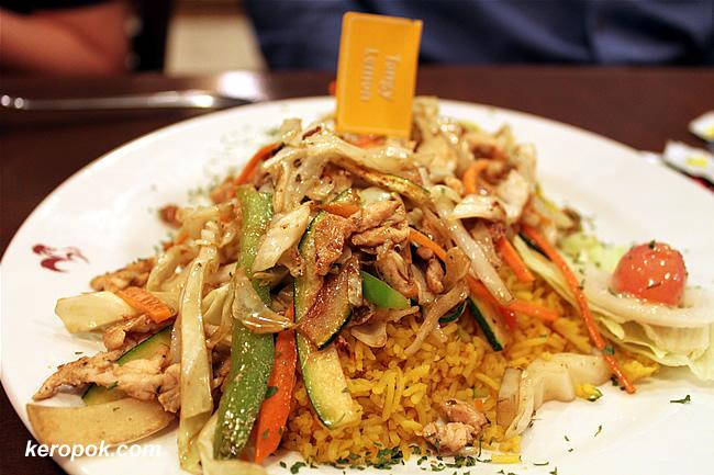 Chicken Stir Fry and Rice