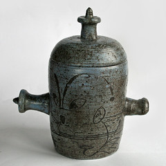 Tom Sanders. Lidded pot. 1962