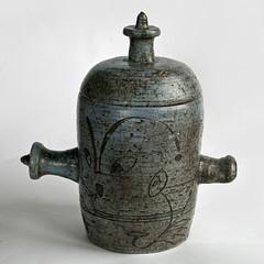 Tom Sanders. Lidded pot. 1962