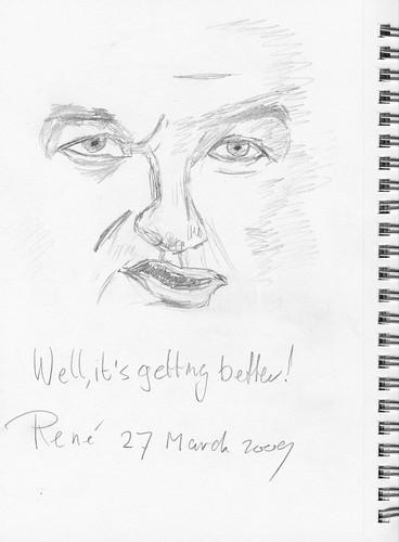 Drawing Leo Laporte - TTG 2009-03-28 B