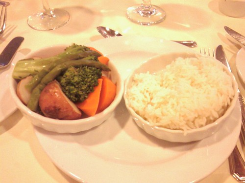 Steamed Vegetables and Rice