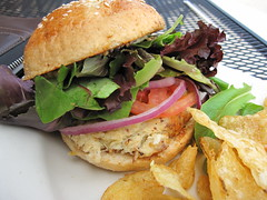 highland bakery - crab burger