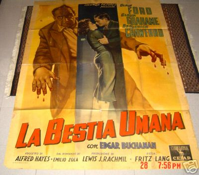 Fritz Lang La bestia umana