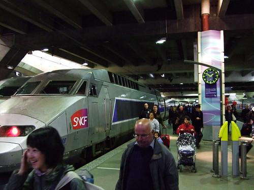 Arrival in Paris