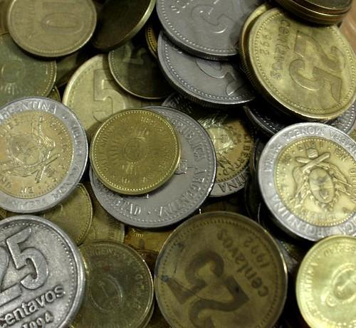 Monedas argentinas (by morrissey)