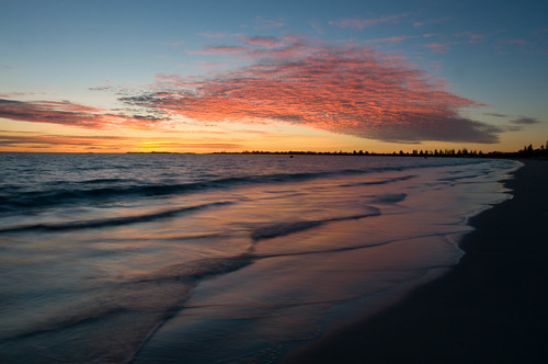 Warnbro Beach Sunset