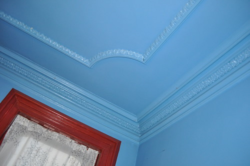 1st floor crown molding