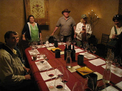 Tasting room in the Benziger Caves
