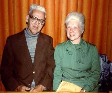 My Grandma & Grandpa in the 1970's