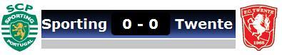 Sporting 0 - Twente 0