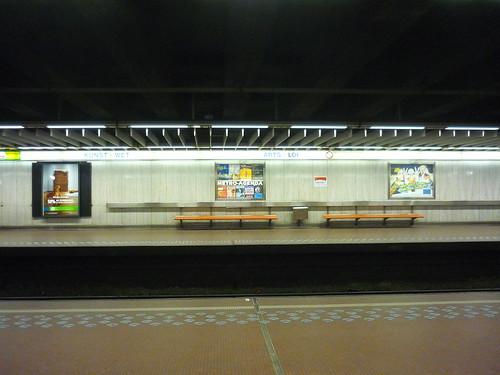 Abandoned metro station