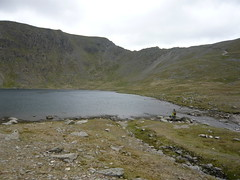 Sid at Red Tarn