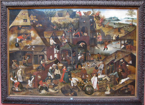 "Netherlandish Proverbs ""The World Turned ..."