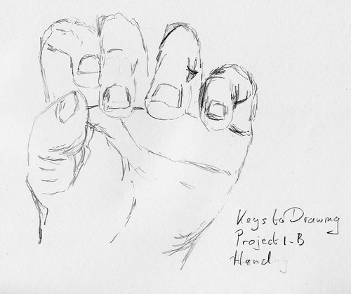 Keys to Drawing - Project 1-B - Hand