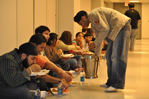 Sikh langar at the New Jersey Institute of Technology