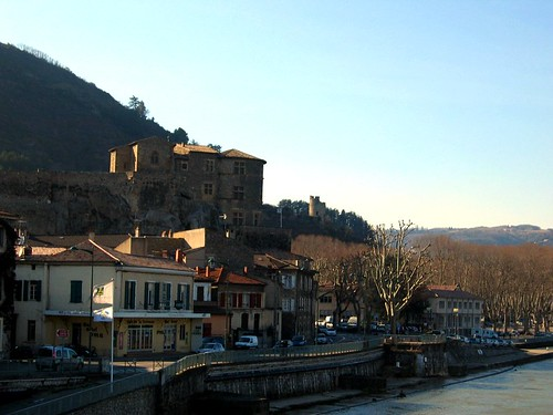 Tournon-sur-Rhone. Welcome to the Ardeche!