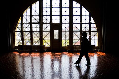 Ellis Island Silhouette