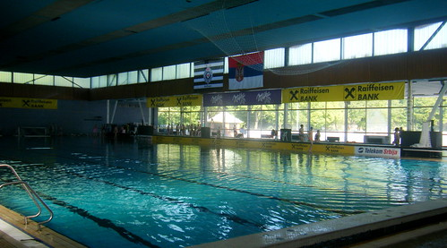 The Partizan Water Polo Club in Banjica