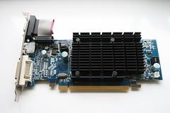 Sapphire ATI Radeon HD 4550 GPU