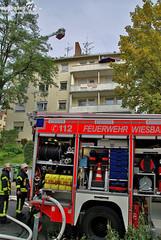 Dachstuhlbrand Emser Straße 21.10.09