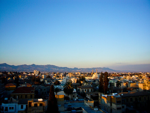 Hotel Room View in Nicosia, Cyprus