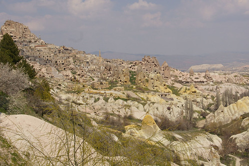 Cappodocia - Landscape View from Restruant by you.
