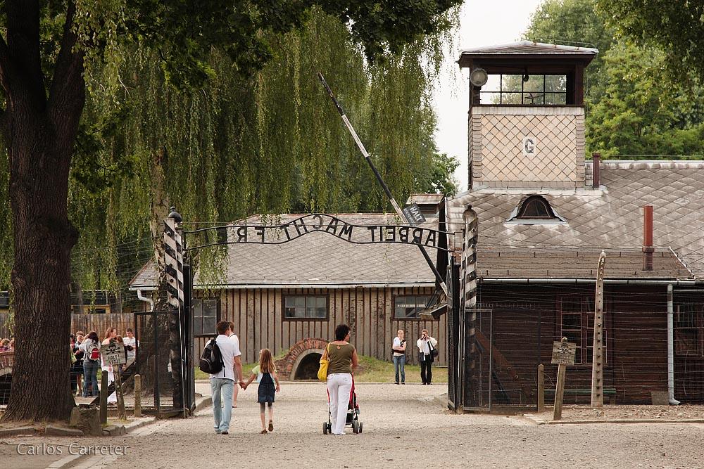 Auschwitz I - entrada
