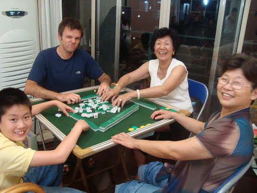 Playing Mah Jong with Long-Lost Relatives