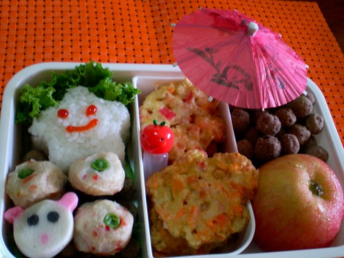 Happy Crabstick Bento