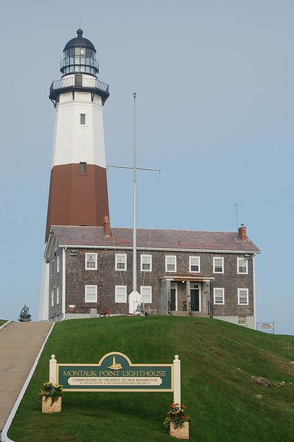 Front View of Montauk Lighthouse