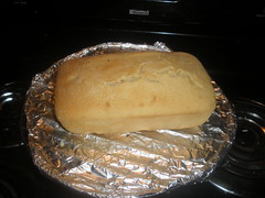 The bread after it was baked!