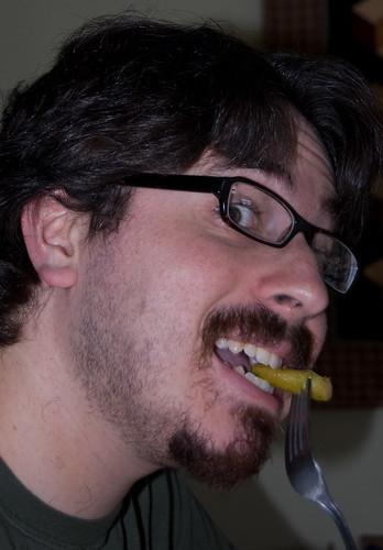 Eric Eats Asparagus!