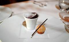 9th Course: Warm Chocolate (le Bernardin Tasting)