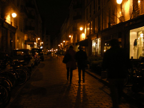 Nuit a le Marais