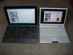 HP miniNote and Asus miniBook