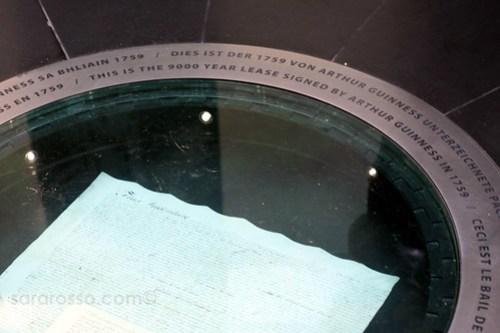 9000 Year Lease, Guinness Storehouse, Dublin, Ireland