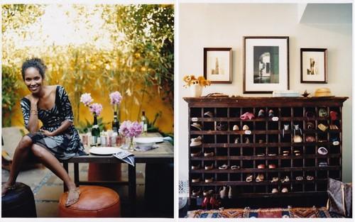 Domino shoe storage Kim Ficaro