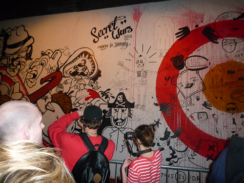 Secret Wars at Village Underground, London 02