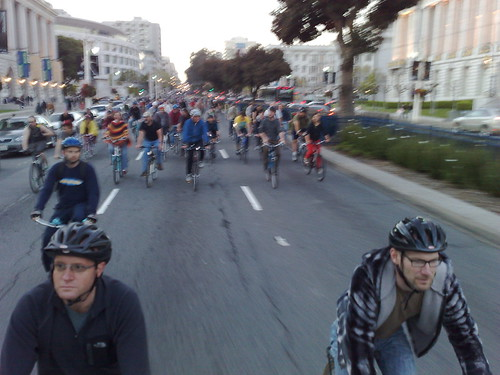 Critical Mass bikerace