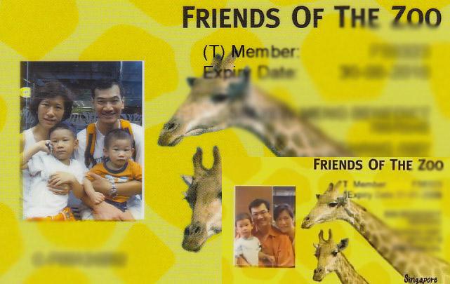 ZOO 2009 2008 Card