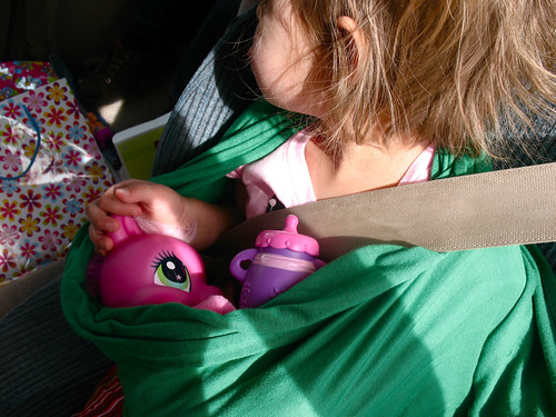 attached pony