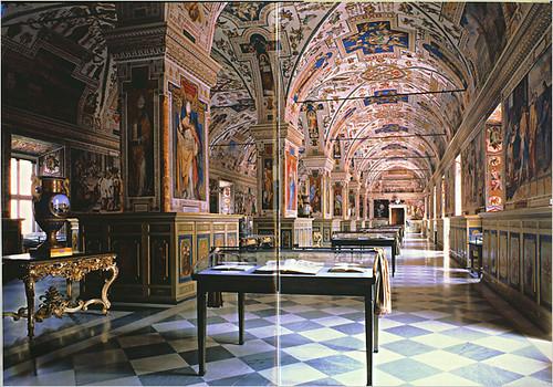 Biblioteca Vaticana, Sala Sisto V.