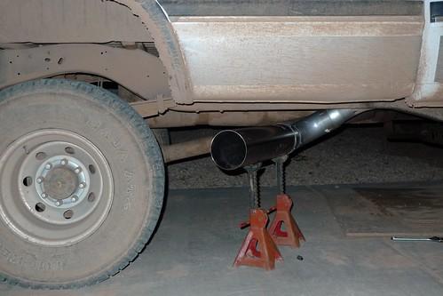 side dump exhaust dodge diesel