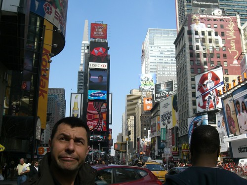 Skepticism in time square