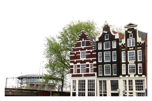 Amsterdam canal houses by you.